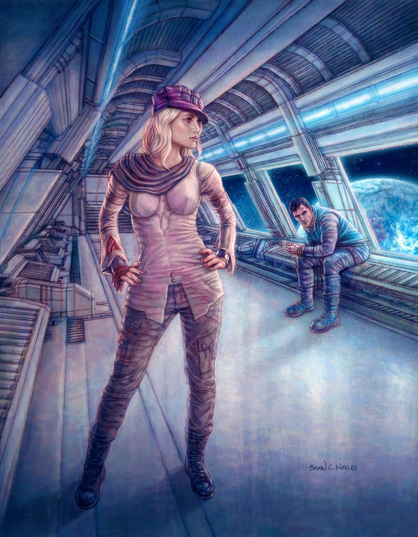 The Idealist Artwork by Brian C. Hailes