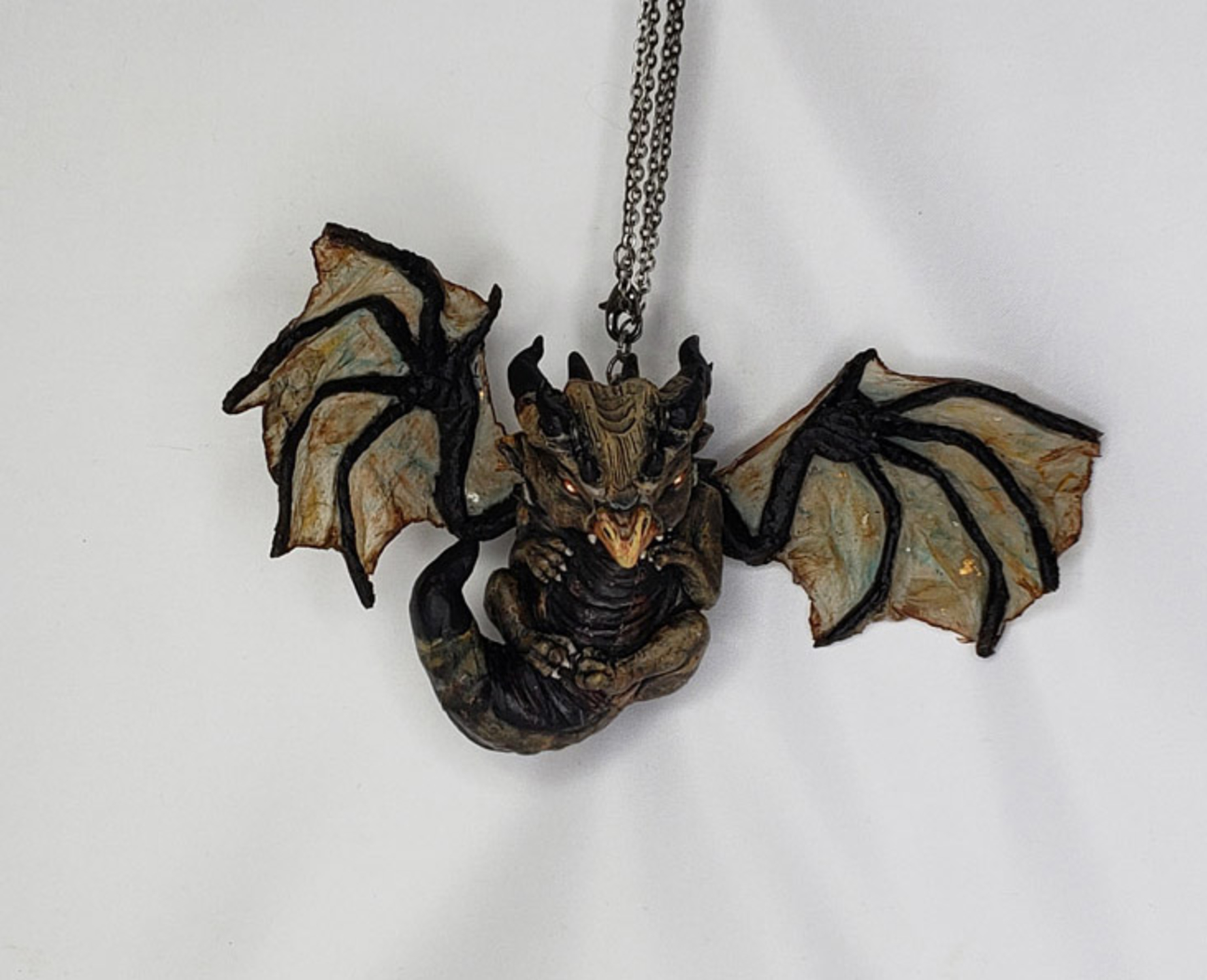 Batty - Bat Winged Dragon Artwork by Lisa Sprite Hansen