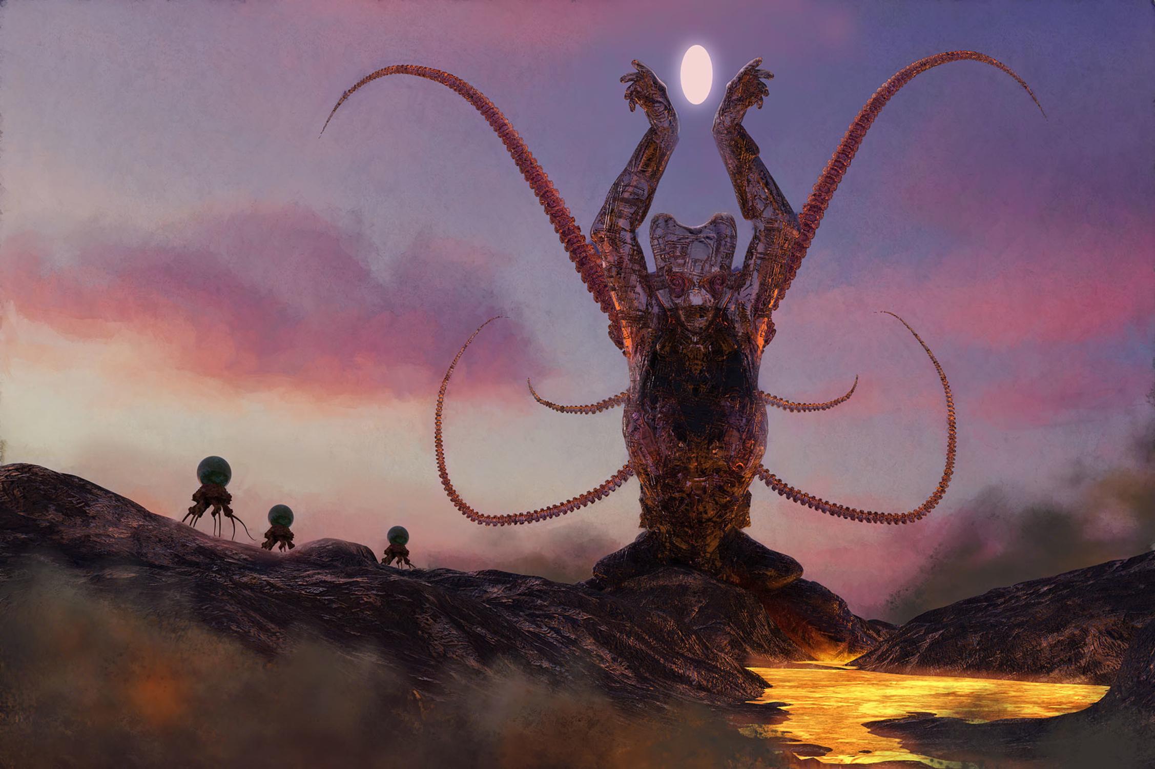 Strange Gods Artwork by Seth Rutledge