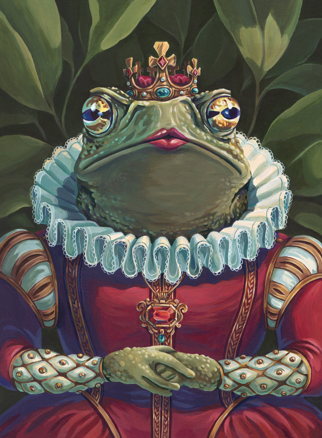 Toad Queen Artwork by Lisa LaRose