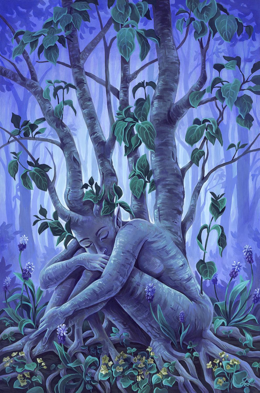 Rooted Artwork by Lisa LaRose