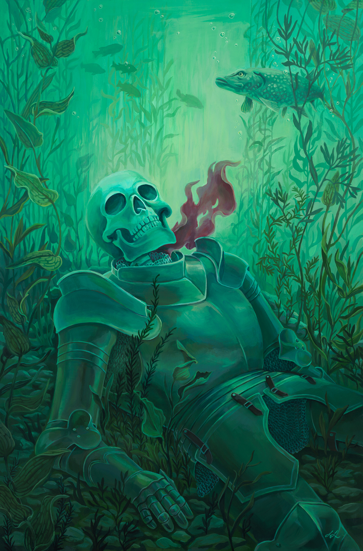 Sunken Knight Artwork by Lisa LaRose