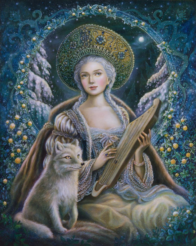 Winter Prelude Artwork by Eeva Nikunen