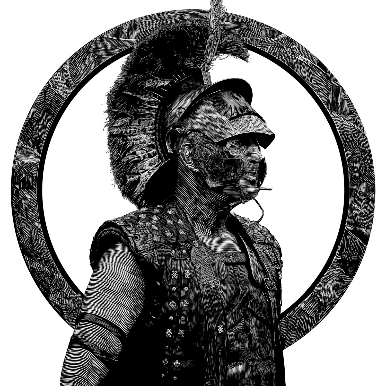 Gladiator Artwork by Douglas Bell
