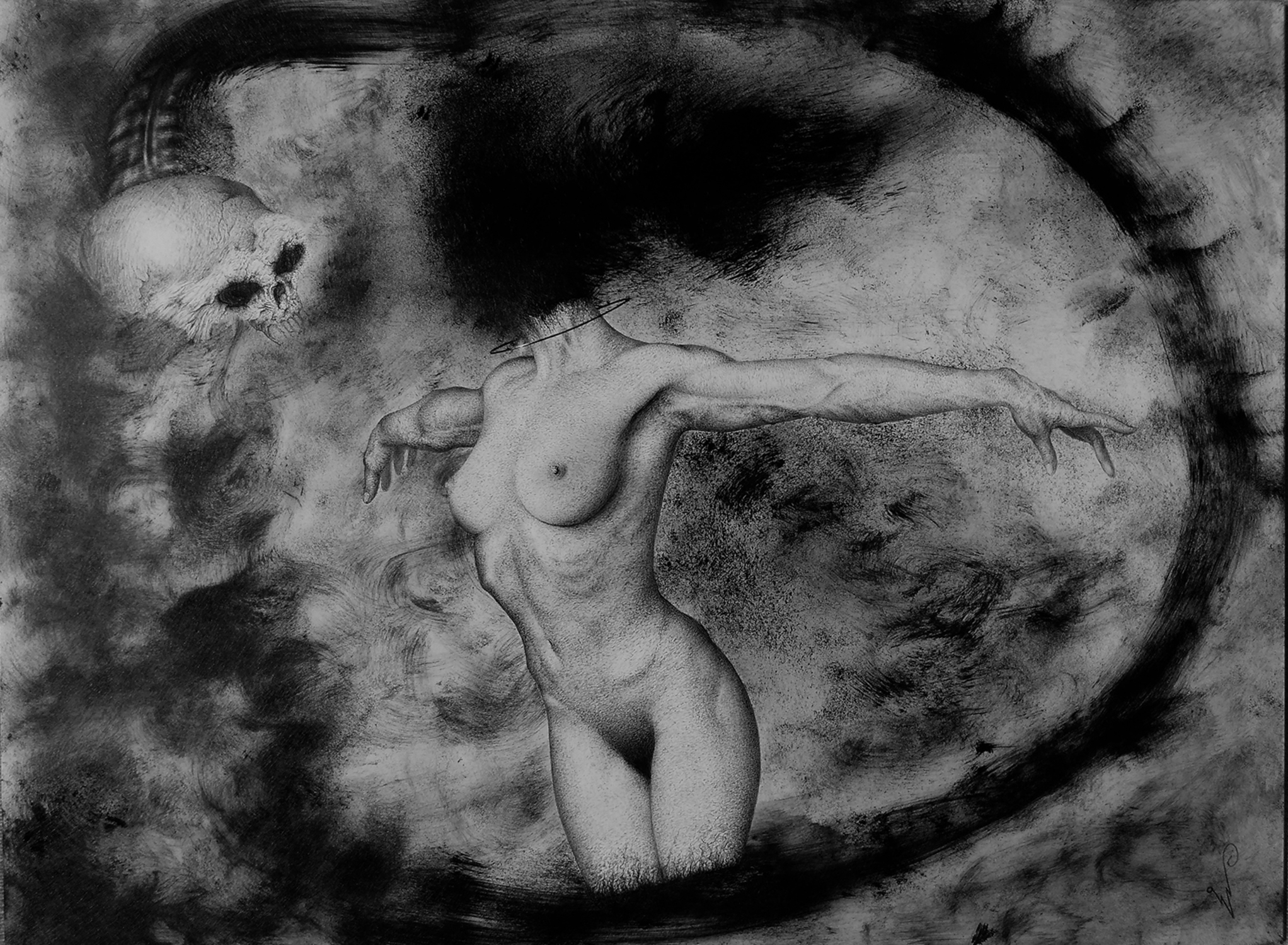 Lux Tenebrosa Artwork by Wave Art