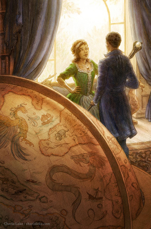 Sorcerers Royal Artwork by Charis Loke