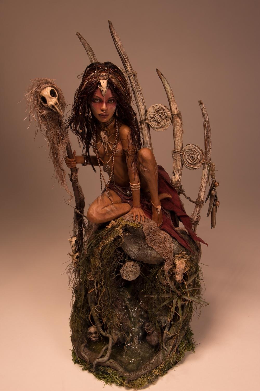 Bone Witch Artwork by Natalie Ruiz