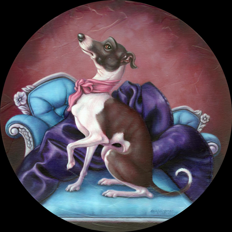 Baron Von Snoots Artwork by Erica Lyn Schmidt