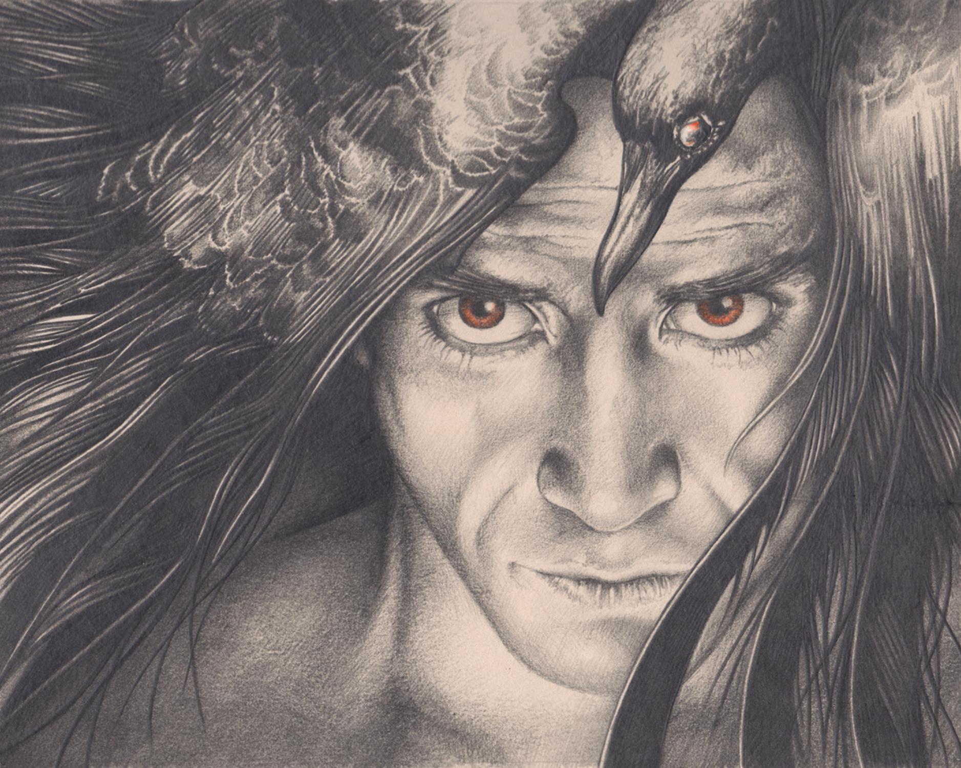 The Helloween King Artwork by Bonnie Helen Hawkins