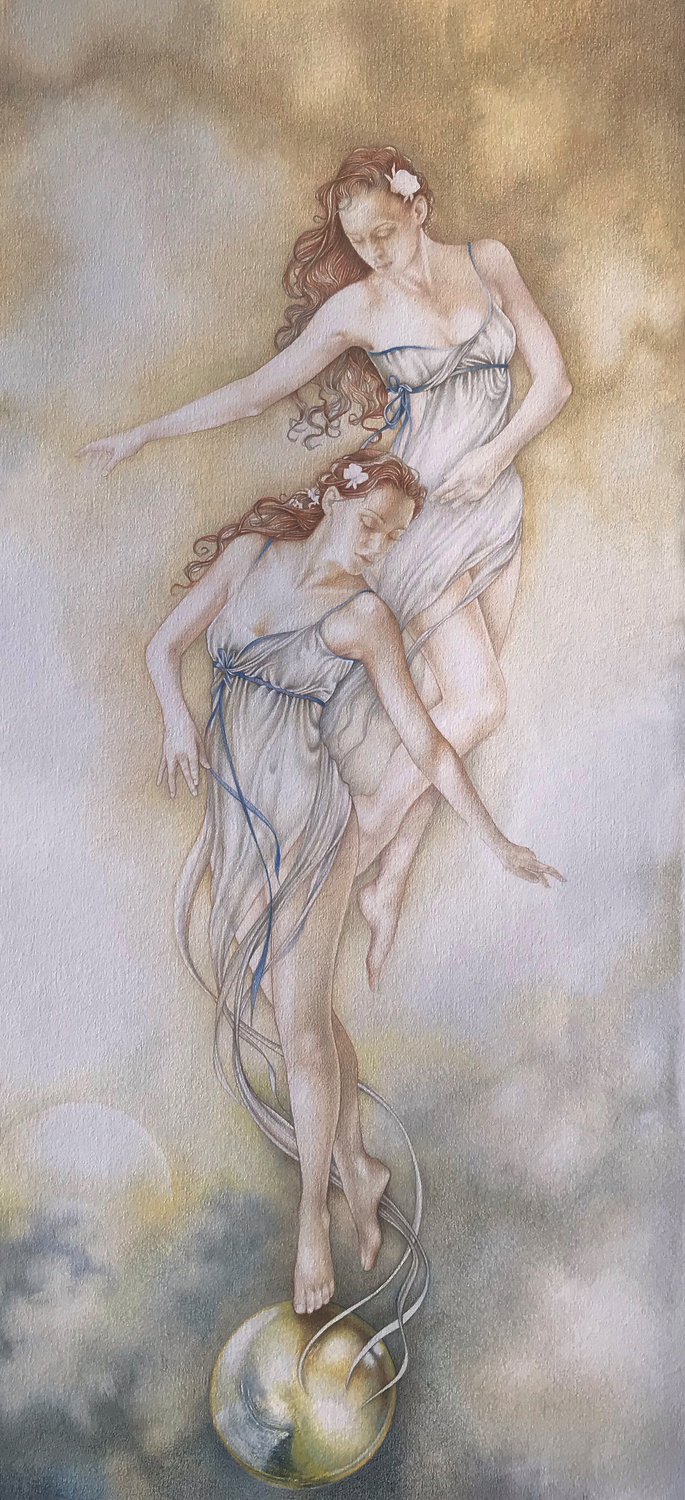 Air Dancers Artwork by Bonnie Helen Hawkins