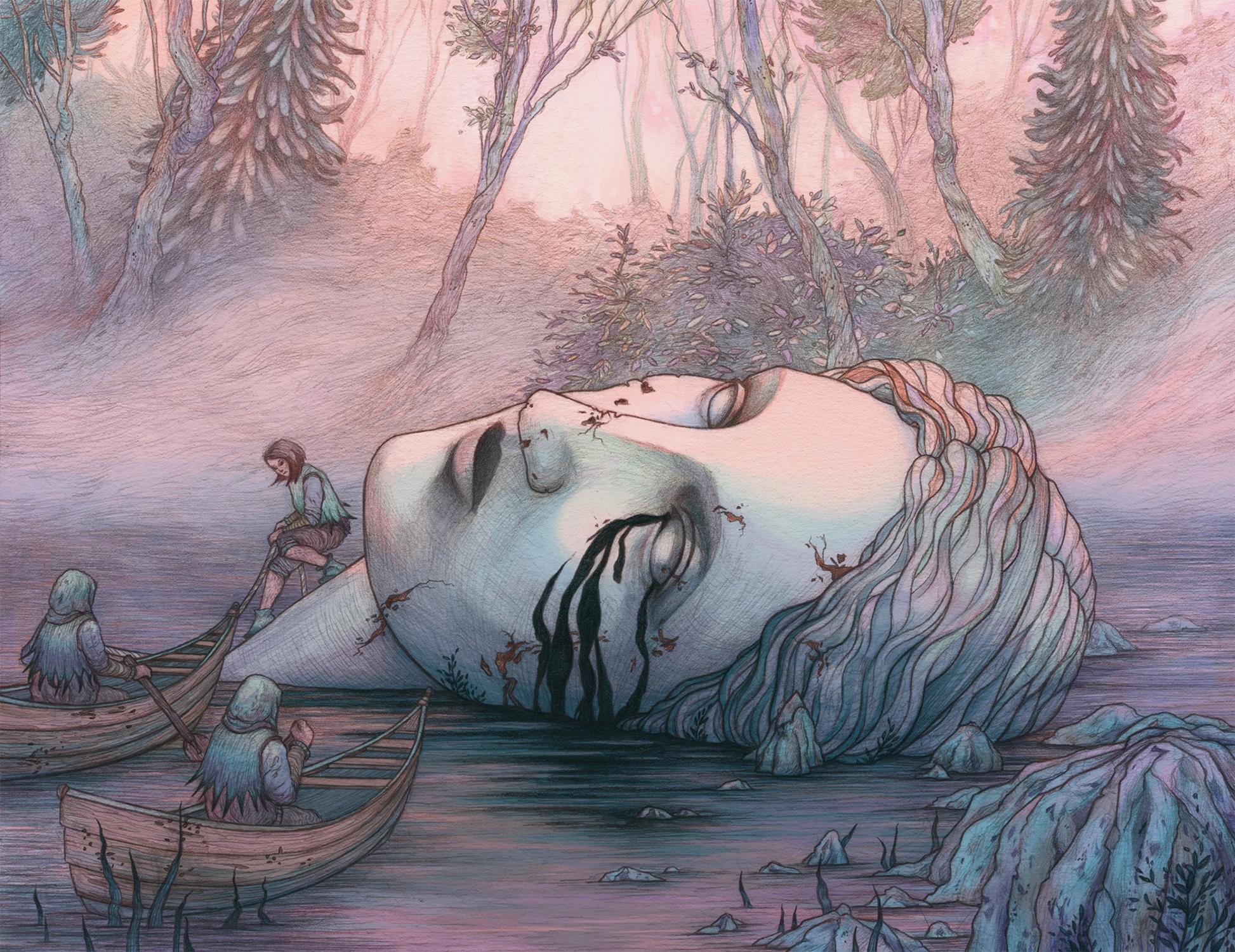 Sorrow Artwork by Rosalie Lettau