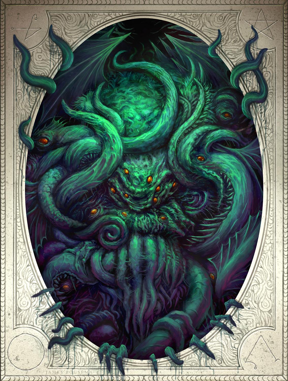 Cthulhu Awakens Artwork by James Bousema