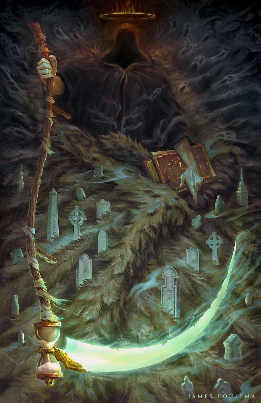 Angel of Death Artwork by James Bousema