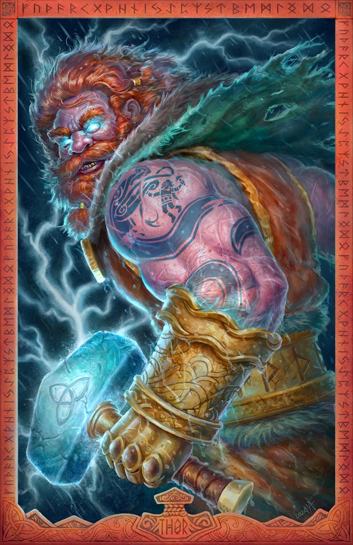 Thor: God of Thunder Artwork by James Bousema