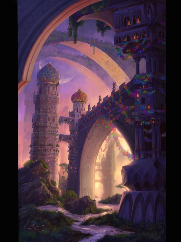 City of Bridges Artwork by Grace Fong