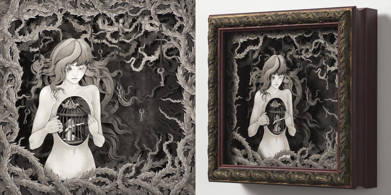 Unrequited Sorrow Artwork by Daria Aksenova