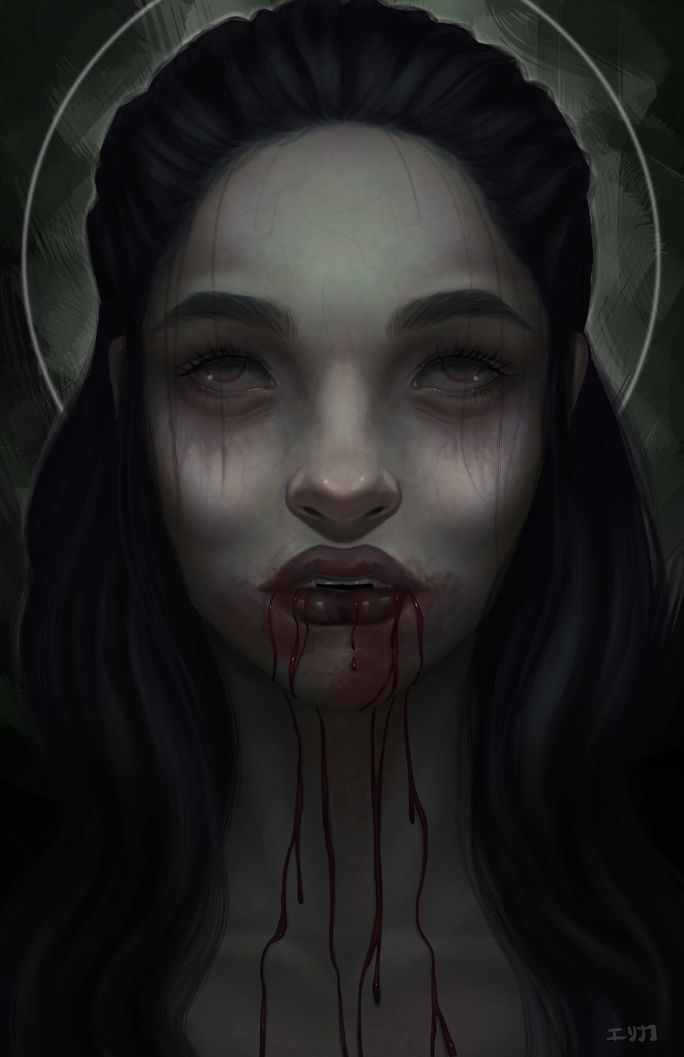 Vampire Artwork by Erica Willey