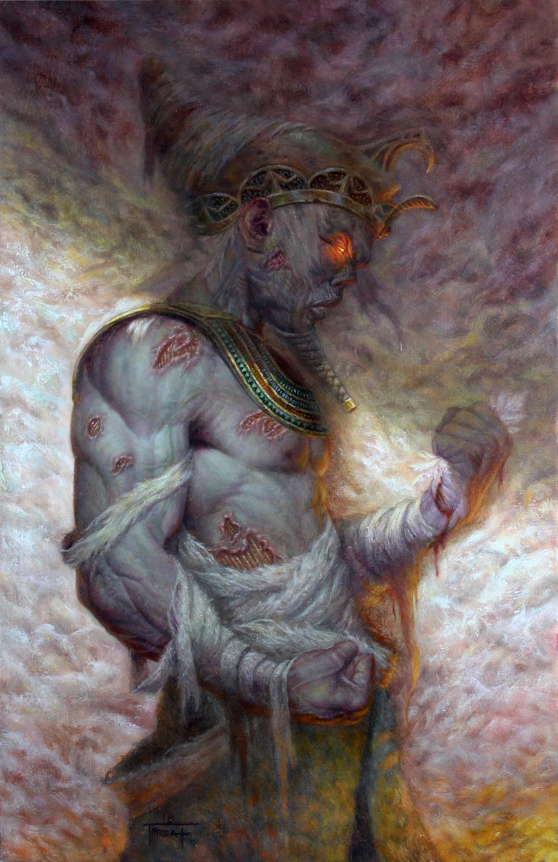 Undead Pharaoh Artwork by Jarel Threat