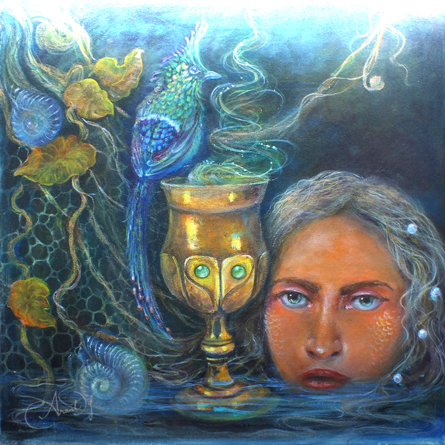 Goblet of Life Artwork by Anantdip Kaur