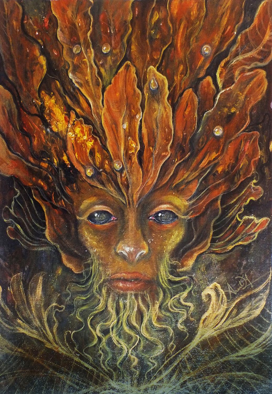 The Last Leafman Artwork by Anantdip Kaur