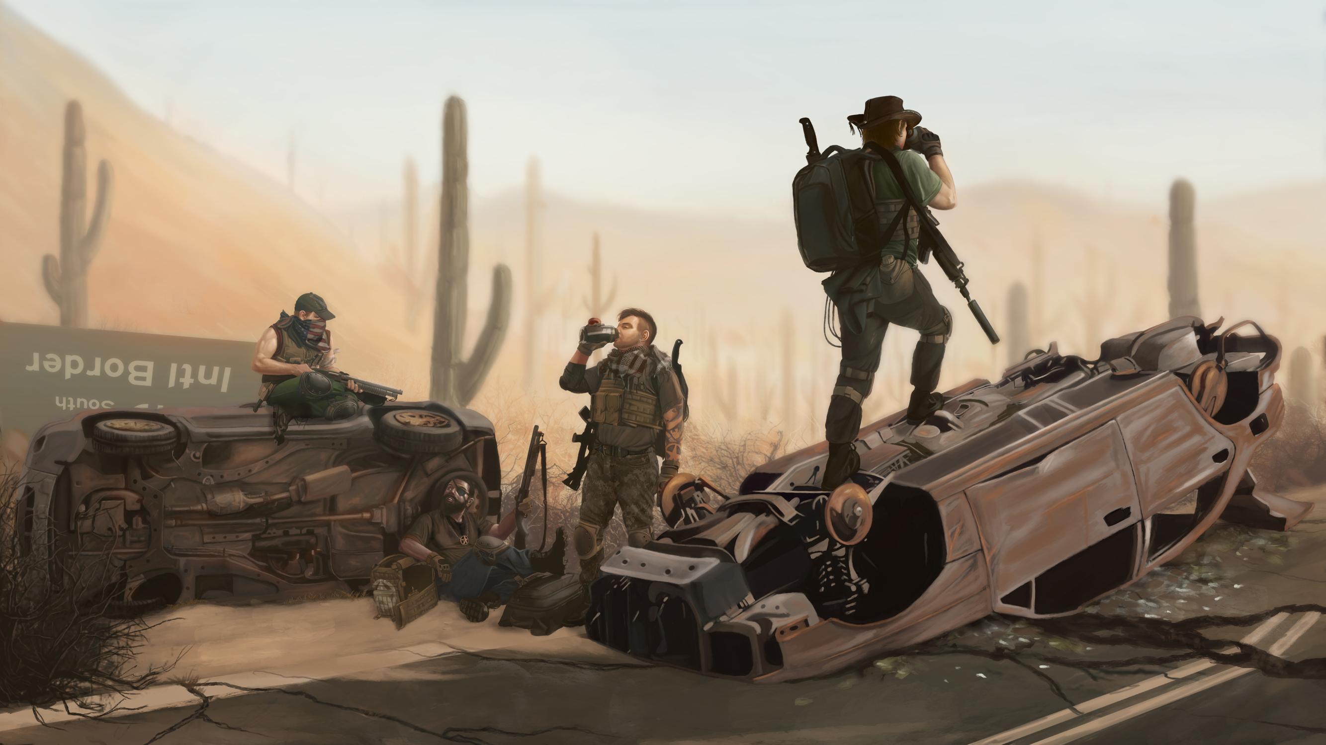 Wasteland Artwork by Matthew McEntire