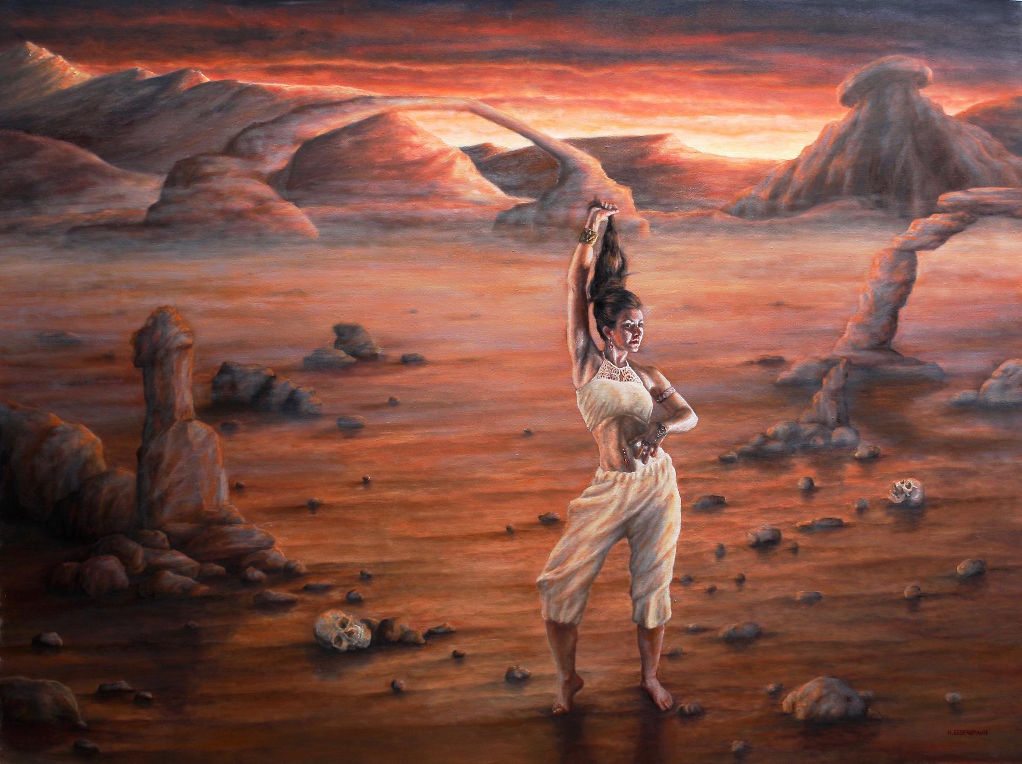 No Mans Land Artwork by Kristen Eienbraun