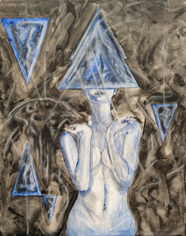 Pyramid Goddess Artwork by Jeremy Neill