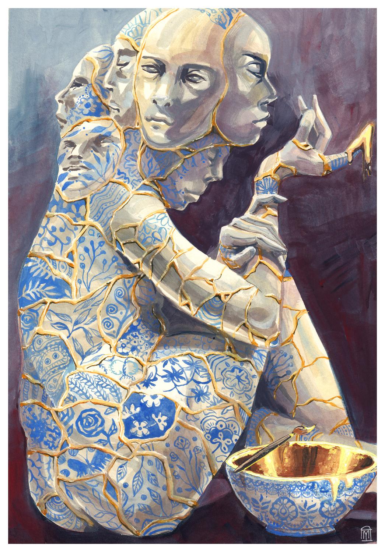Golem Artwork by Myriam Tillson