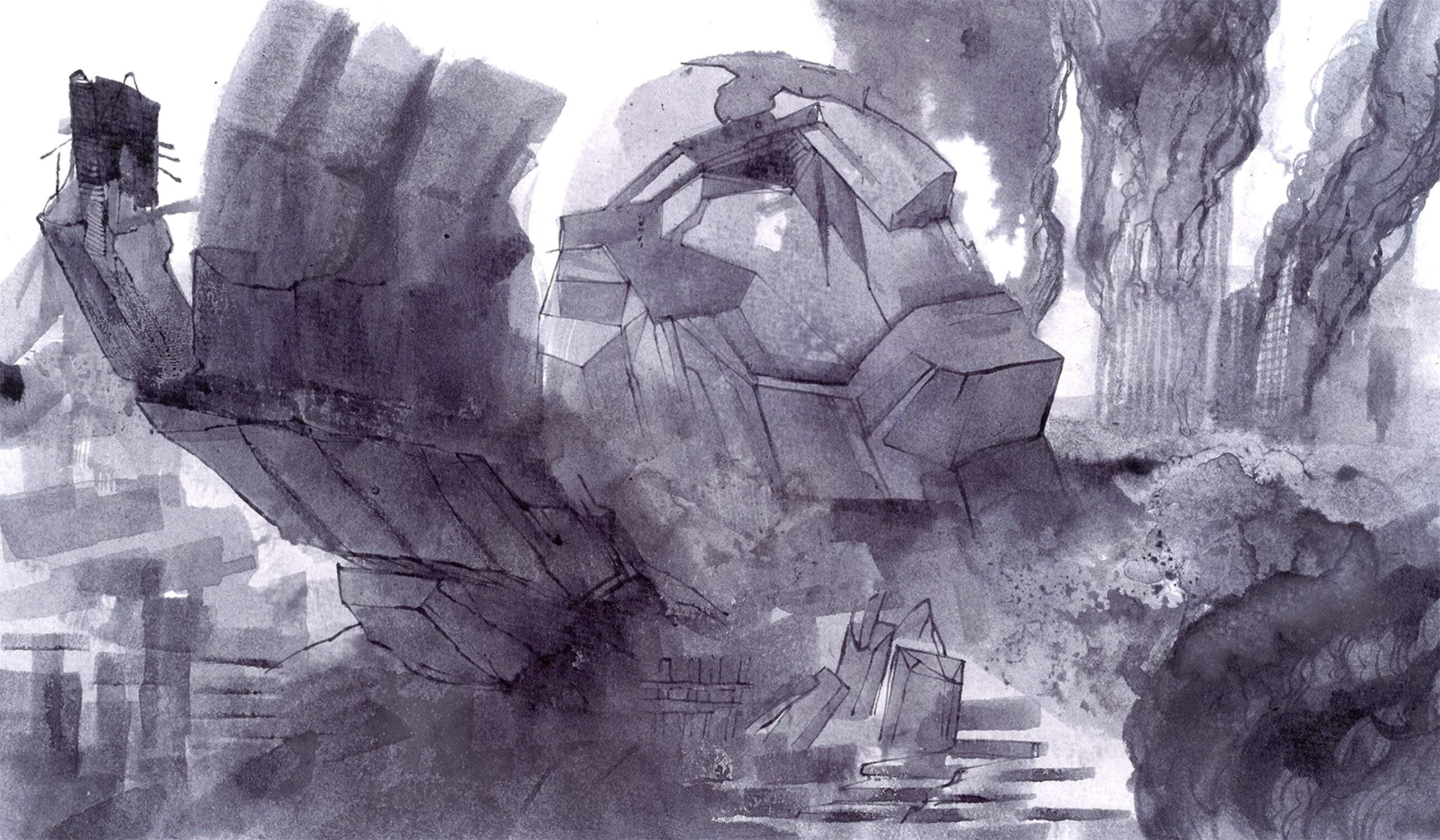 Stone Sentinel Artwork by Ulysses Penfield
