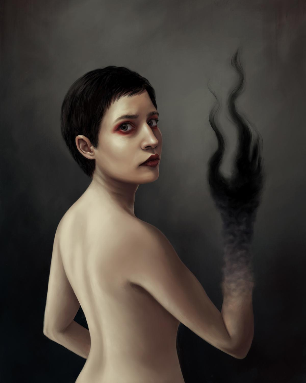 Sublimation  Artwork by Lauren Snow