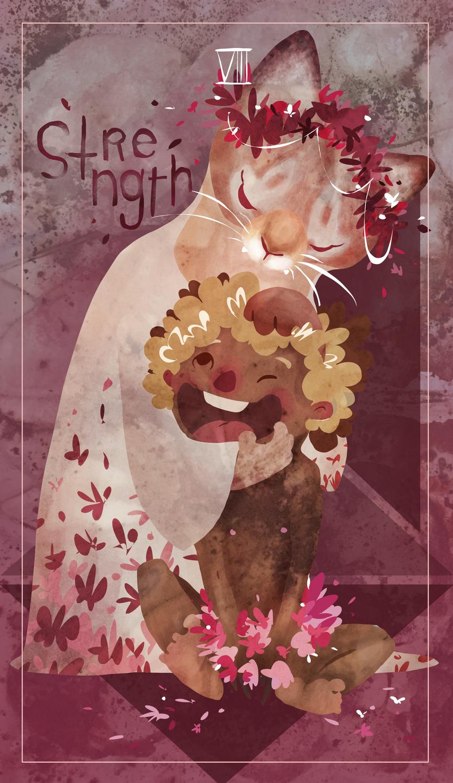 Strength Artwork by Nicole Yang