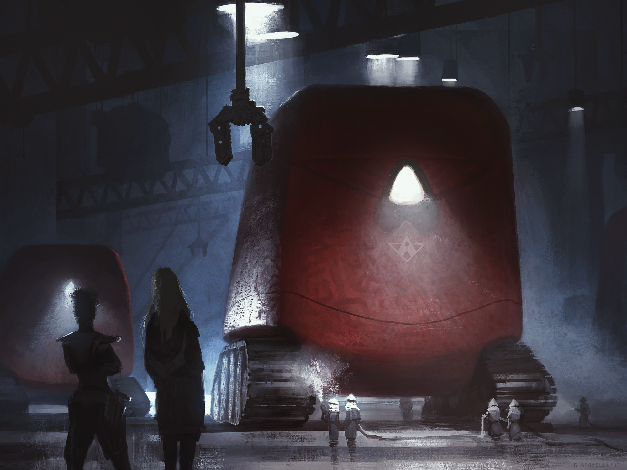 War Shell Factory Artwork by Grzegorz Bobrowski