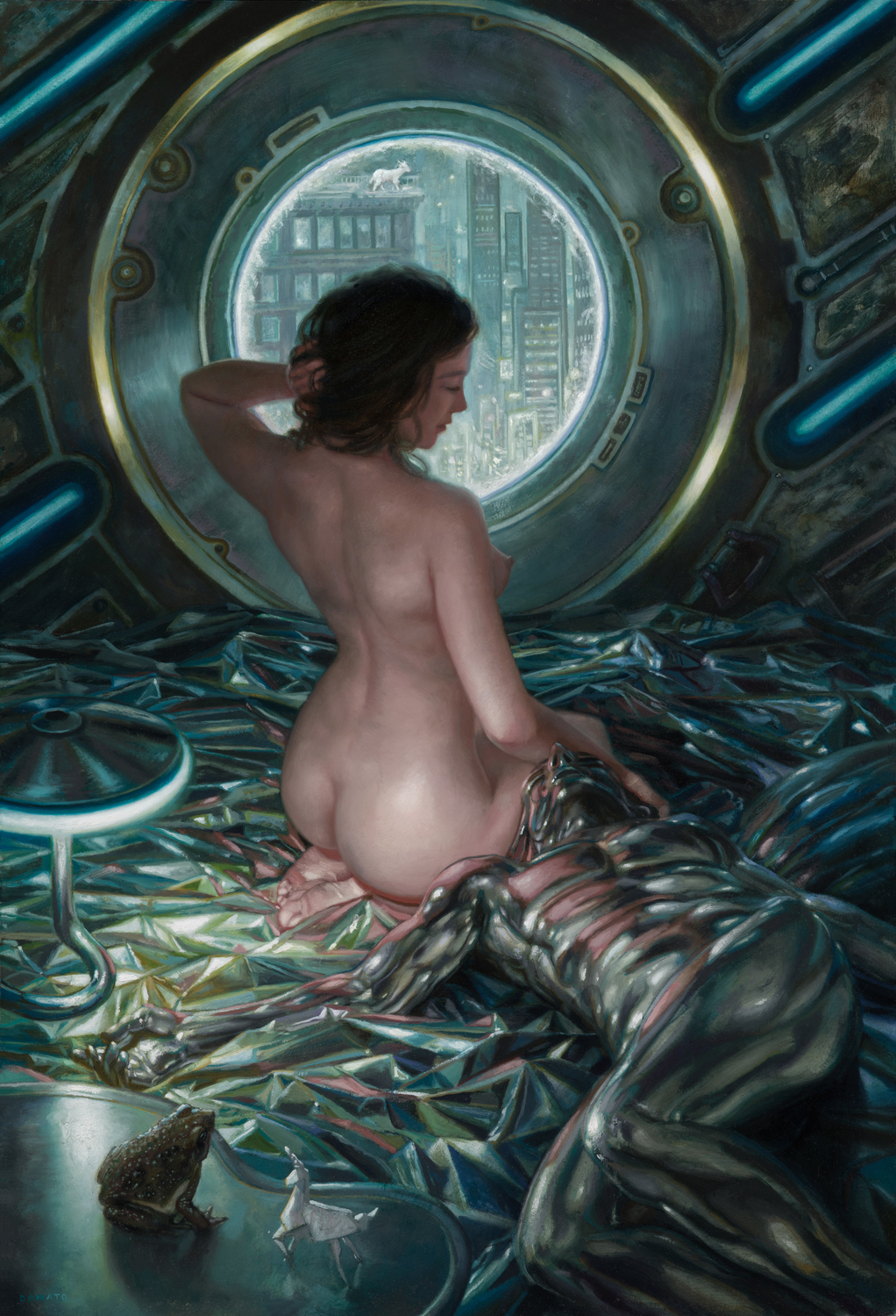 Do Androids Dream of Electric Sheep Artwork by Donato Giancola