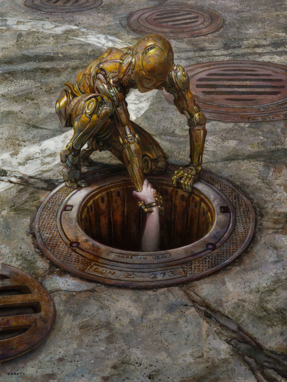 Reach Artwork by Donato Giancola