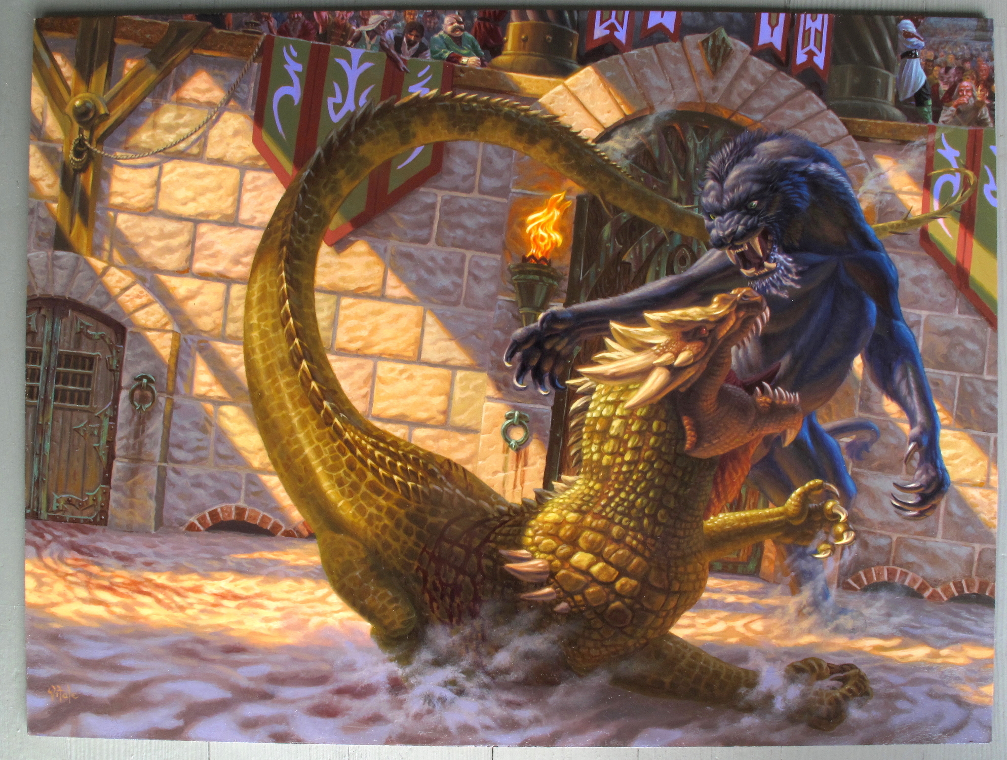 A Beast for Norn Artwork by raoul vitale