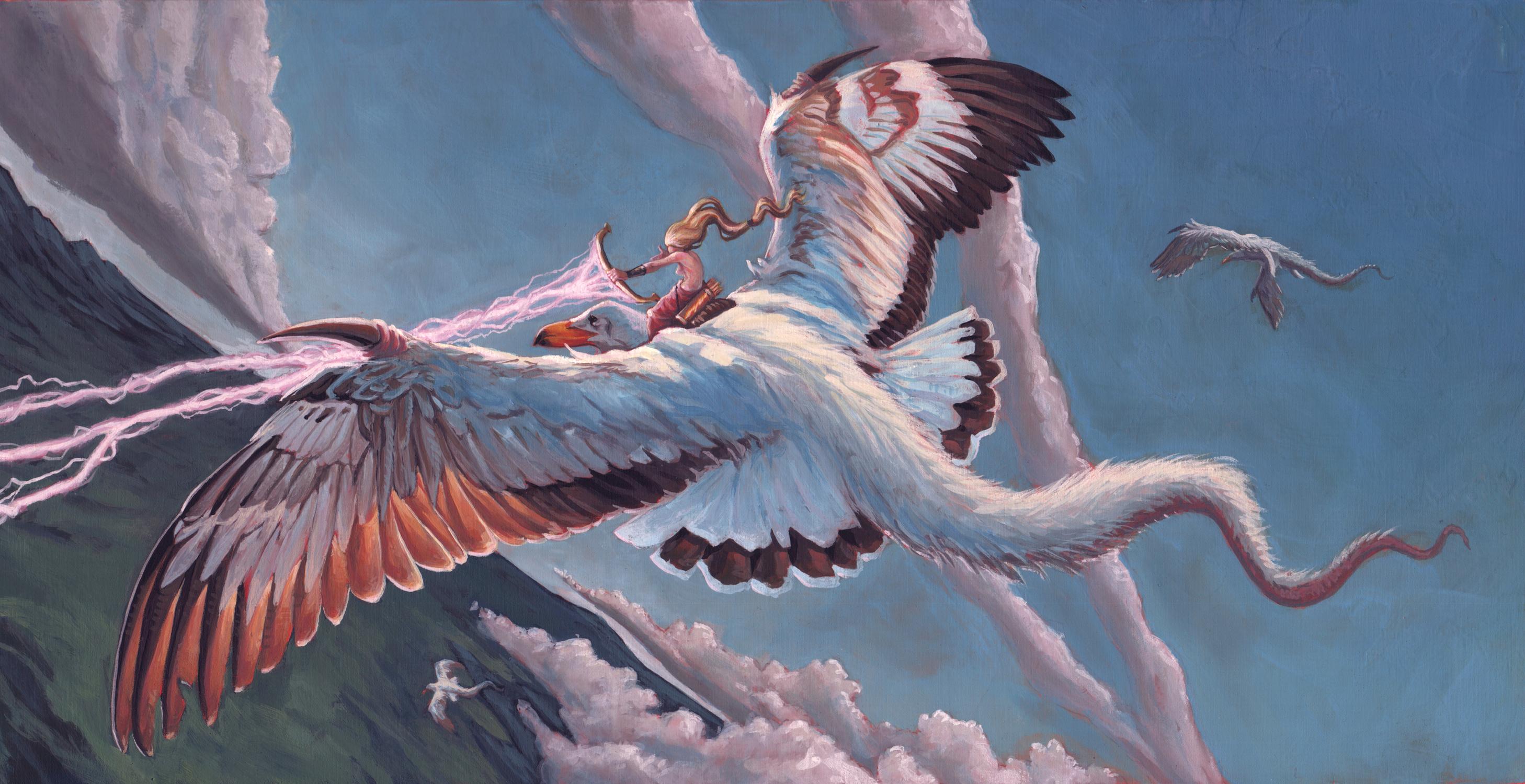 Thunder Bird Artwork by Anthony Schmidt