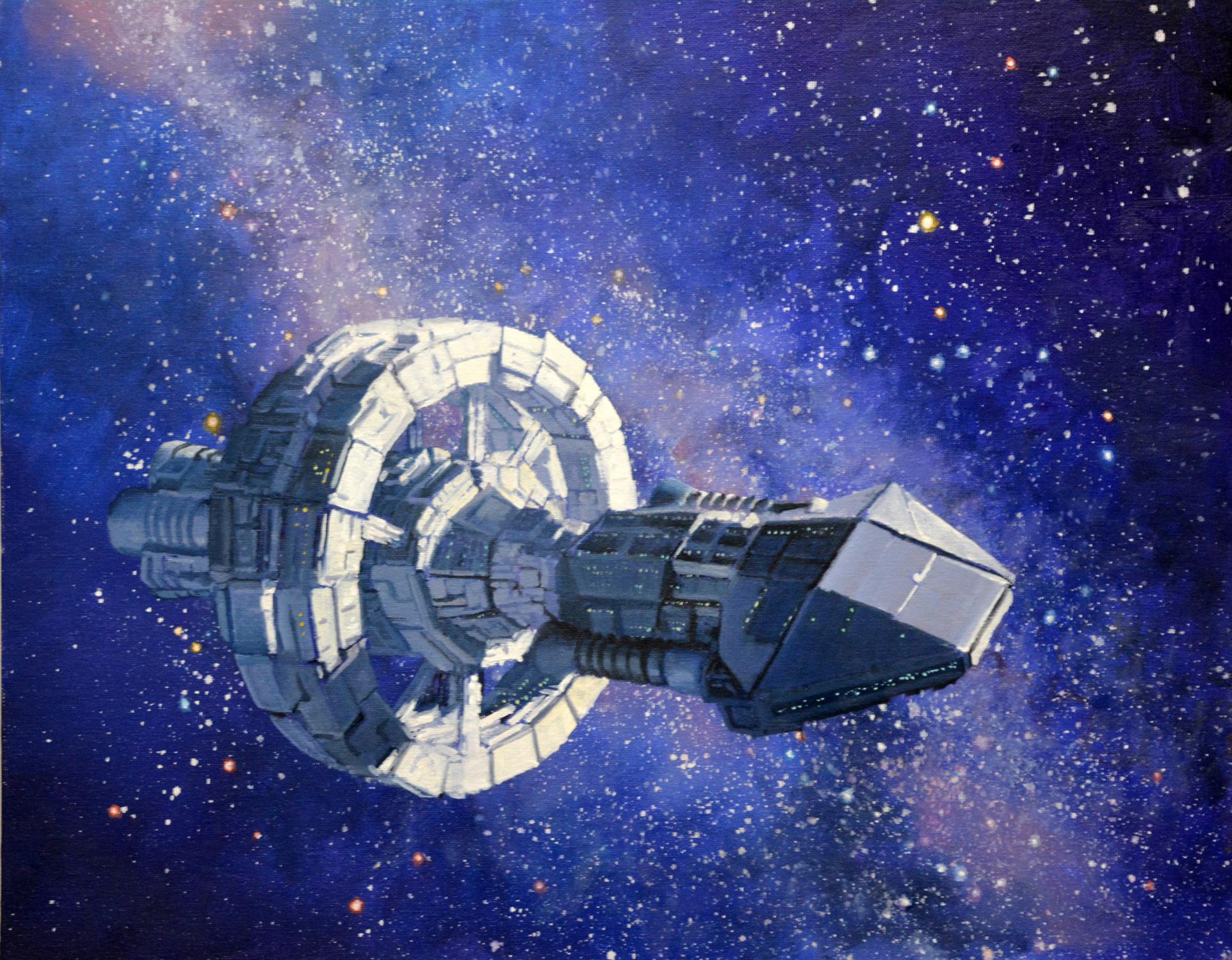 The River of Stars We Sail Artwork by Armand Cabrera