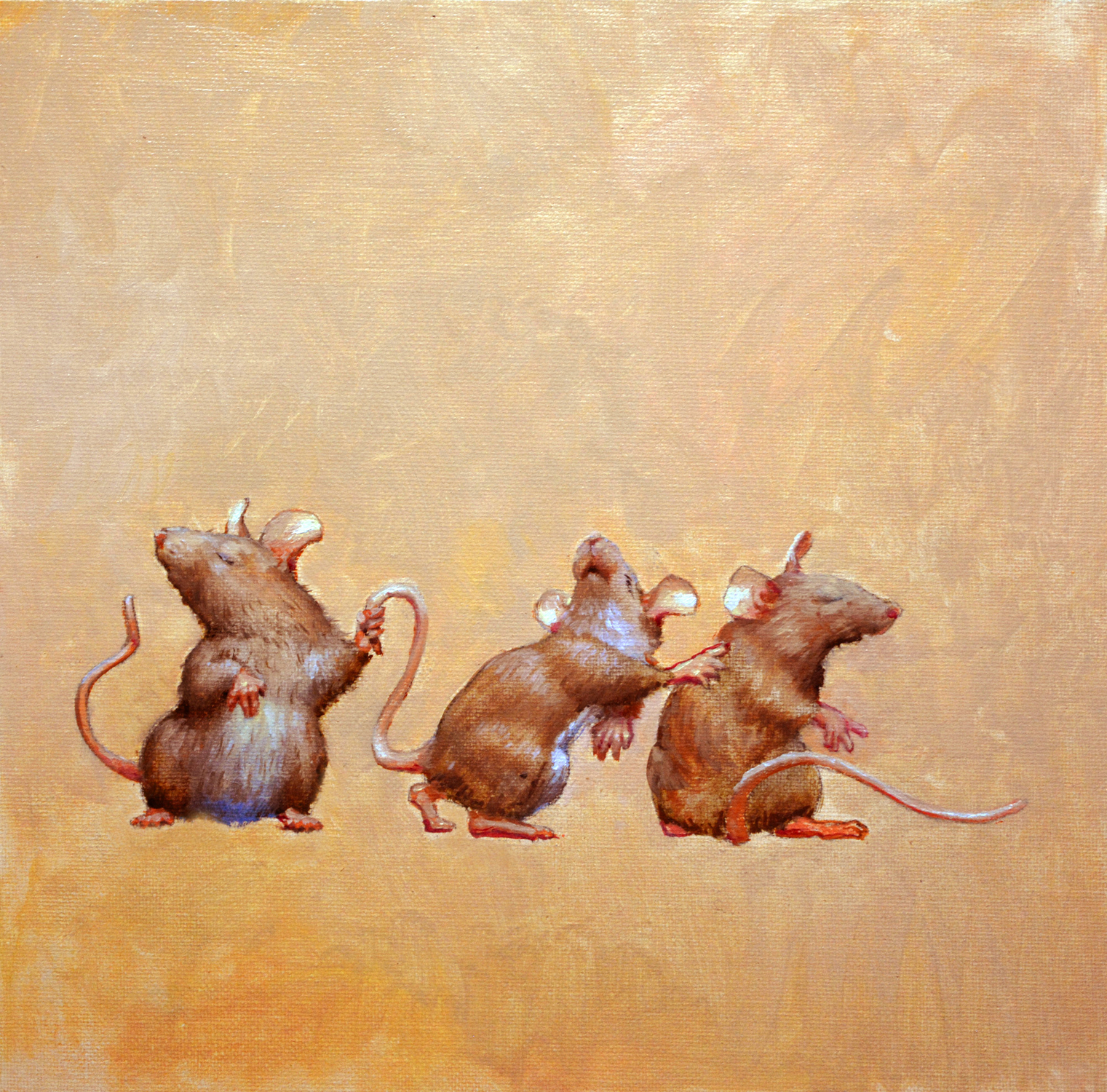 Blind Mice Artwork by Armand Cabrera