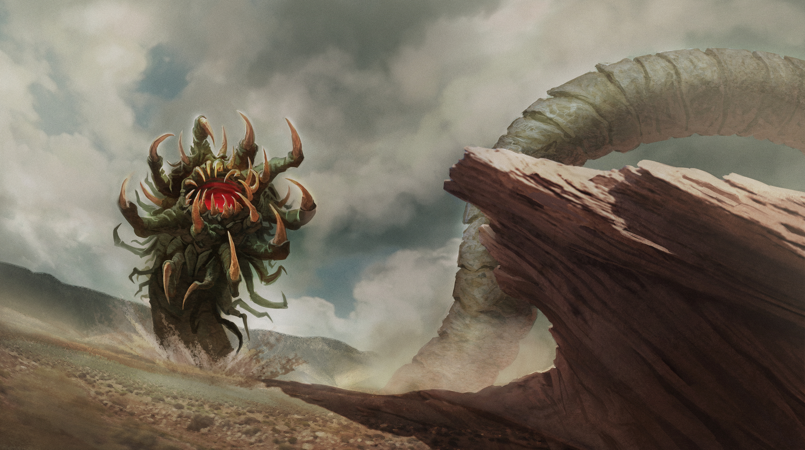 Elder God Shudde Mell Artwork by Lucas Durham
