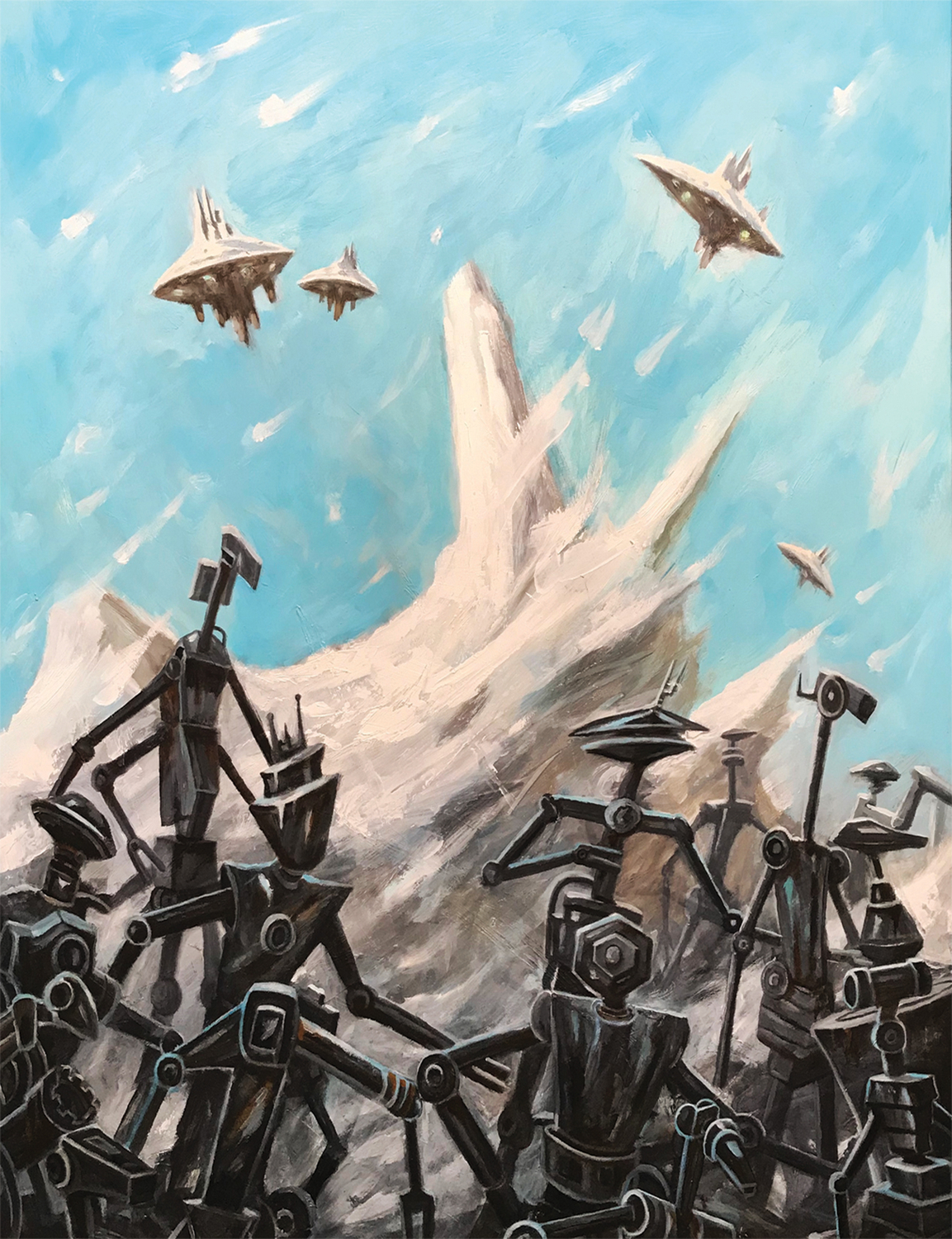 The March of the Forgotten Artwork by Brian McElligott