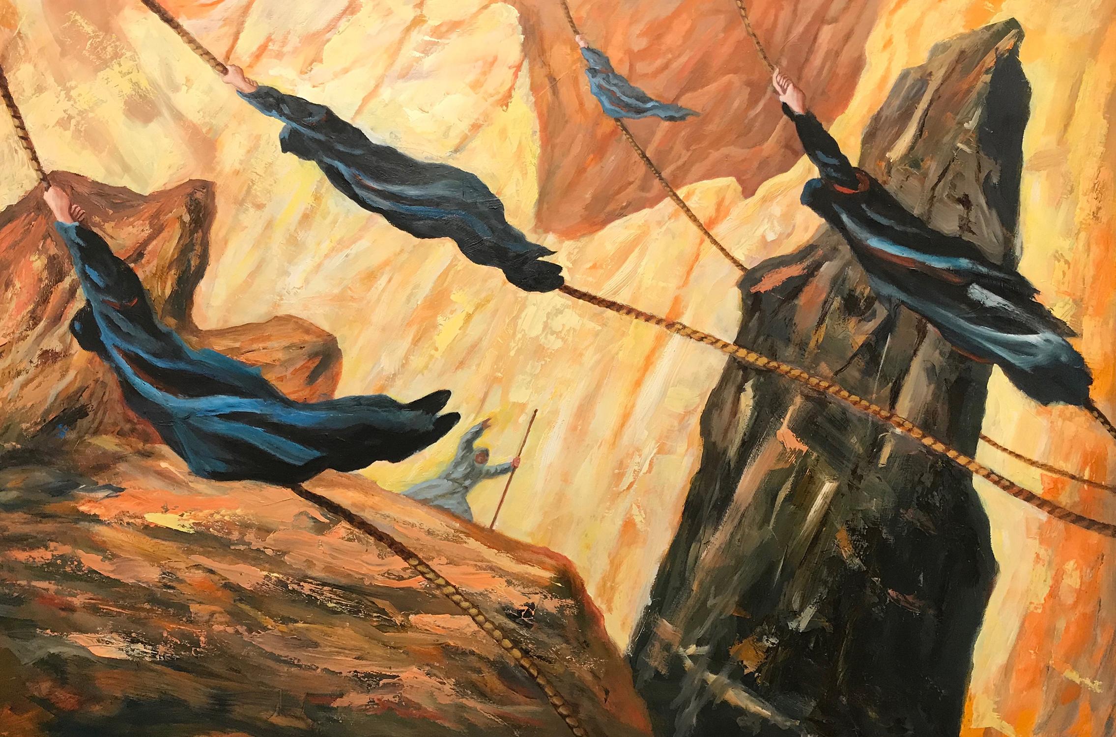 Icarus 2 Artwork by Brian McElligott