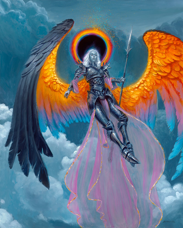Angel of the Frozen Star Artwork by Aaron Miller