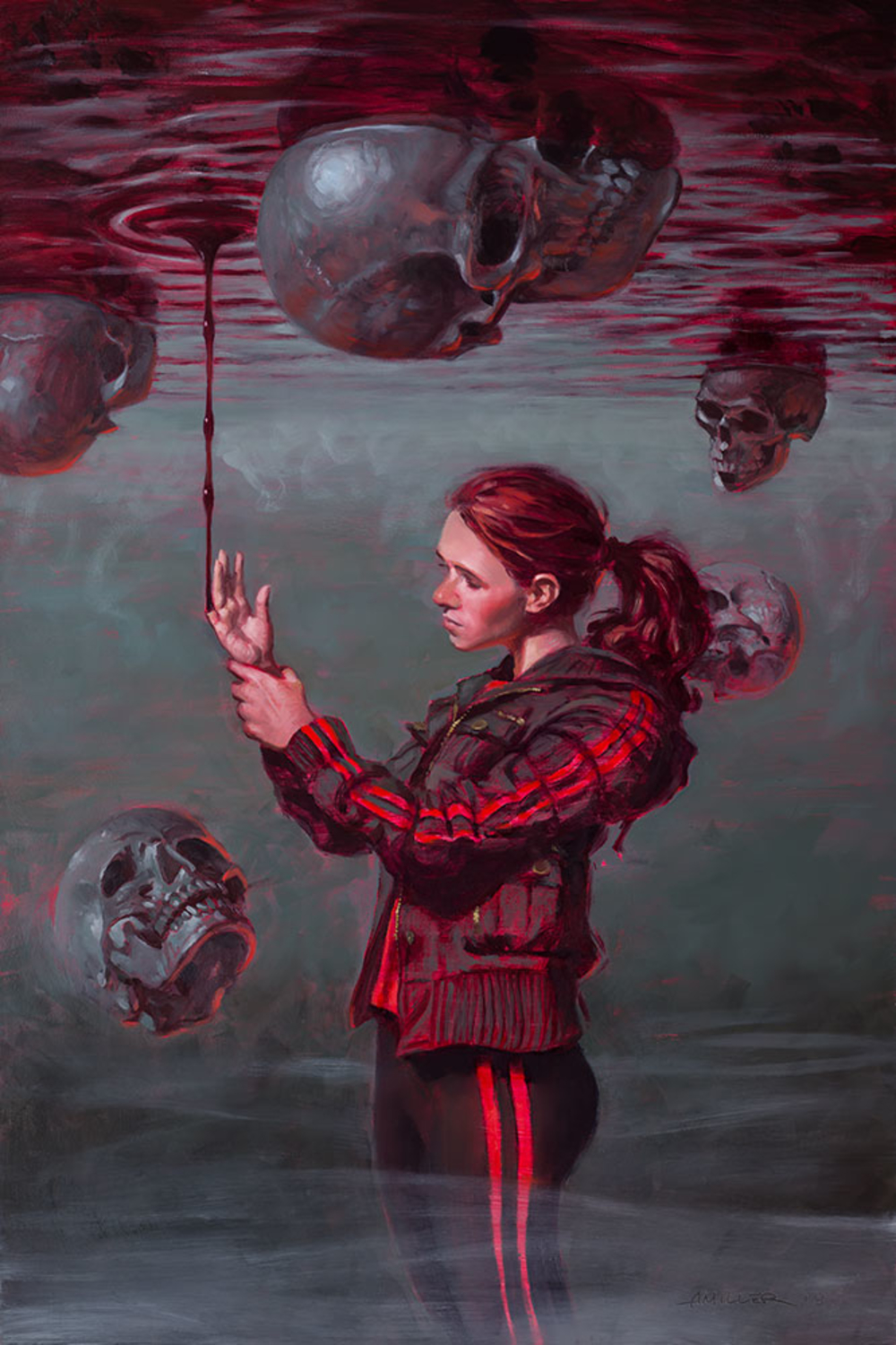 Touching Evil Artwork by Aaron Miller