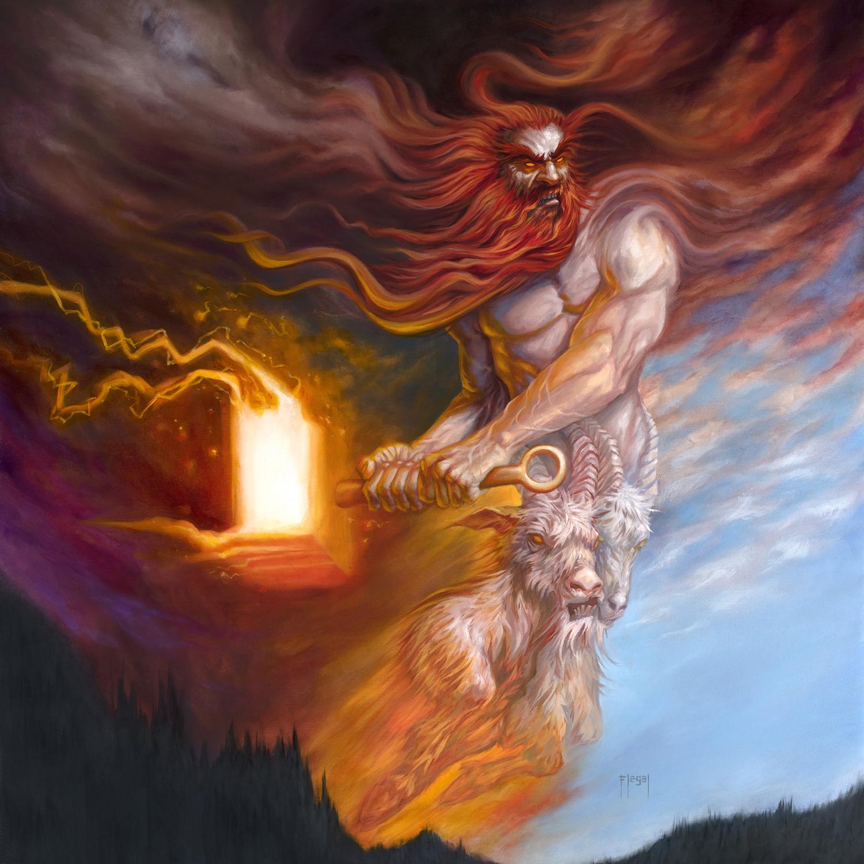 Elemental Thor Artwork by Sam Flegal