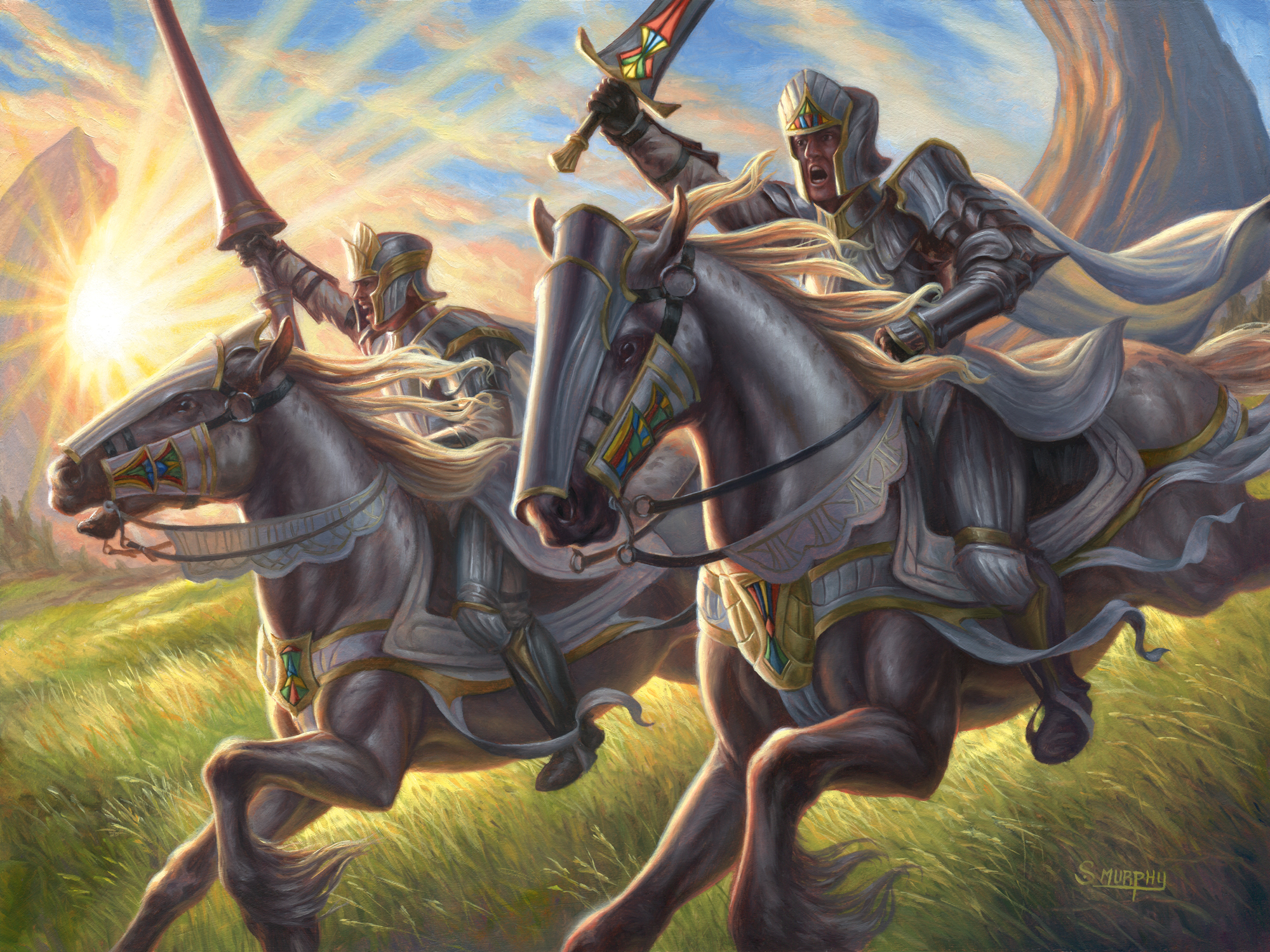Call the Cavalry Artwork by Scott Murphy