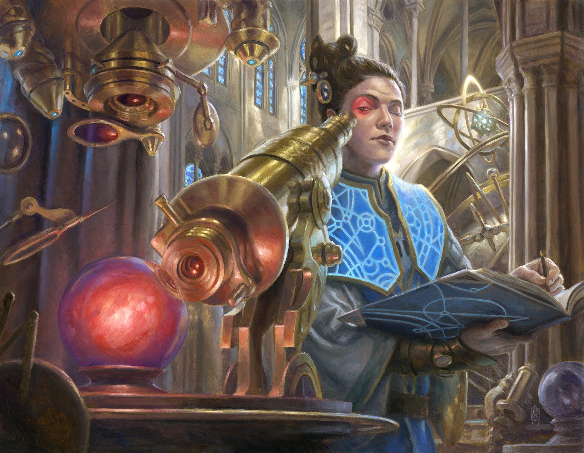 Divination Artwork by Matthew Stewart
