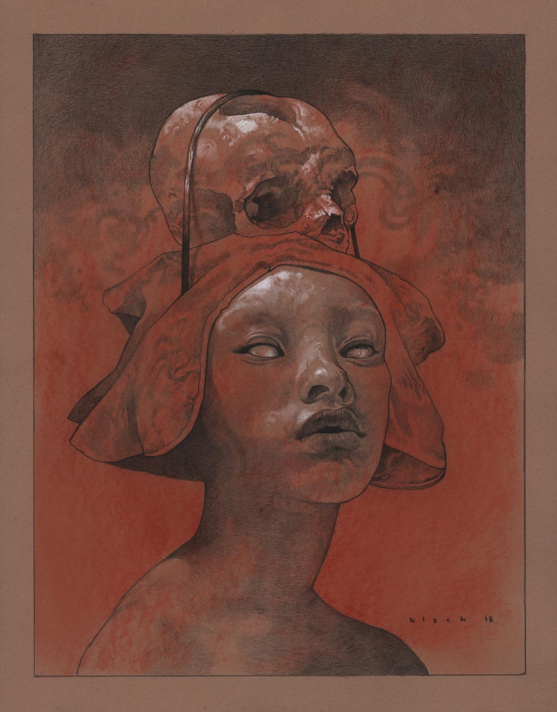 Carrying Death Artwork by Steven Black