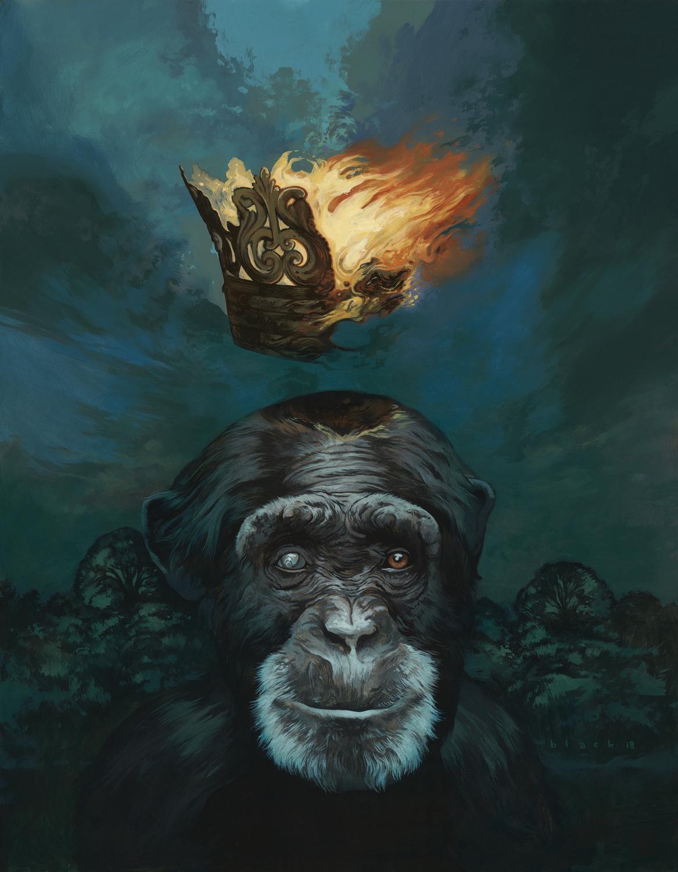Monkey King Artwork by Steven Black
