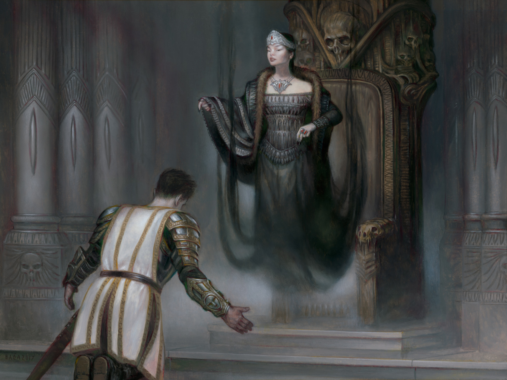 Vampire Sovereign Artwork by Volkan Baga