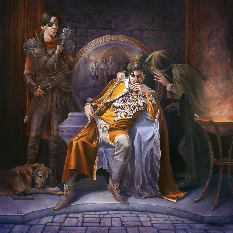 The King's Verdict Artwork by Colin Nitta
